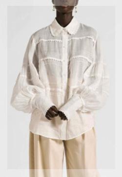 (수입) 린넨 로얄화이트 셔츠