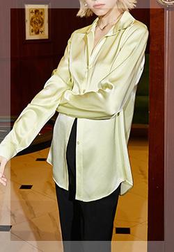 (수입) 산초레몬 긴소매 셔츠