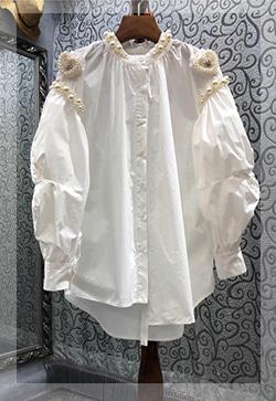 (수입) 비즈궁즌 포인트 셔츠