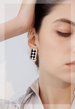 (수입) 세련된 루크 귀걸이